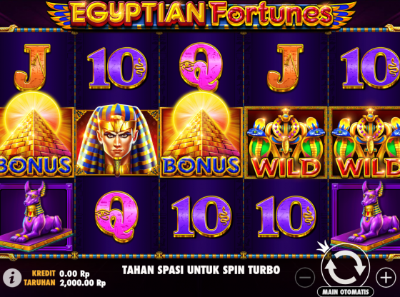 Cara Main Slot Egyptian Fortunes