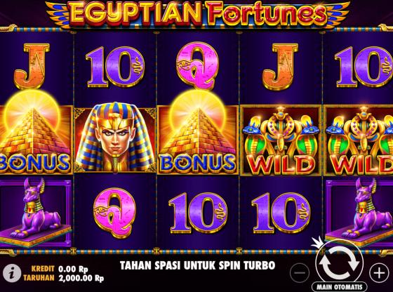 Cara Main Slot Egyptian Fortunes