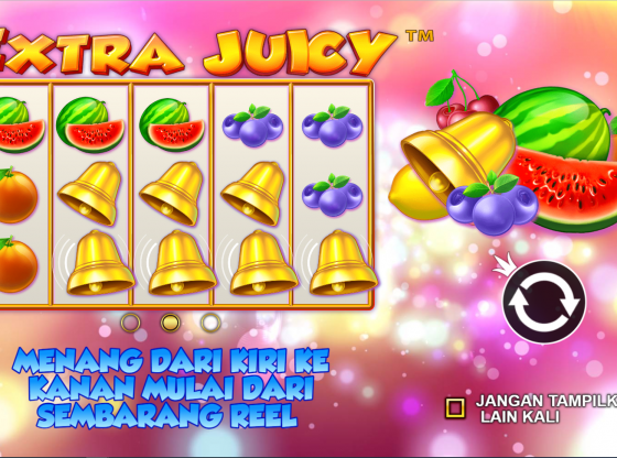 Tips Main Slot Extra Juicy Terbaru