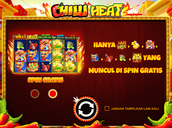 Tips Main Slot Chilli Heat Terbaru