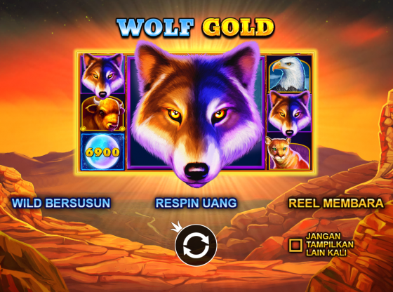 Tips Main Slot Wolf Gold