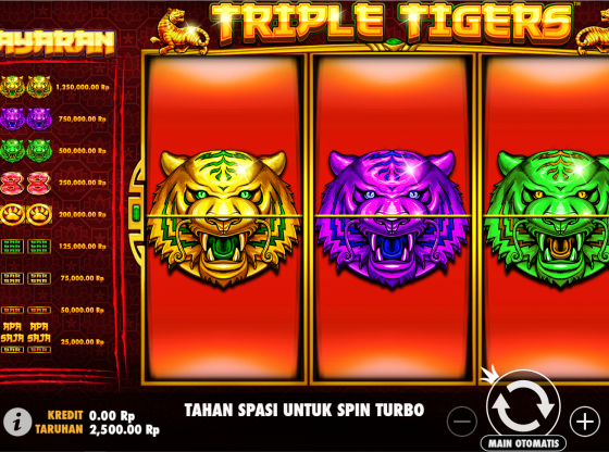 Tips Main Slot Triple Tigers Terbaru