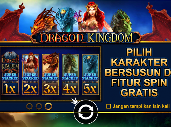 Tips Main Slot Dragon Kingdom Terbaru