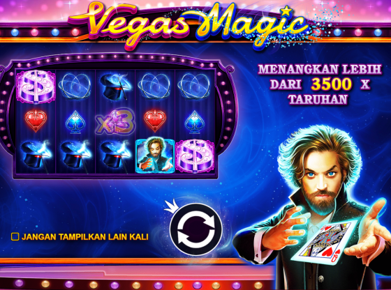 Tips Main Slot Vegas Magic Terbaru