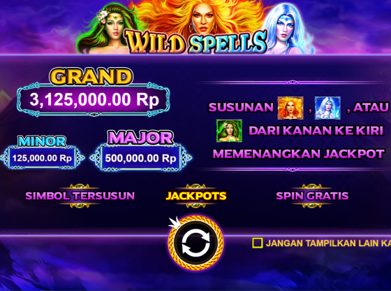 Trik Main Slot Wild Spells Terbaru