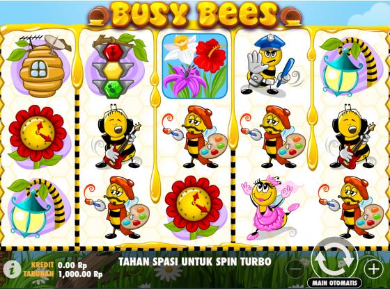 Trik Main Slot Busy Bees Terbaru